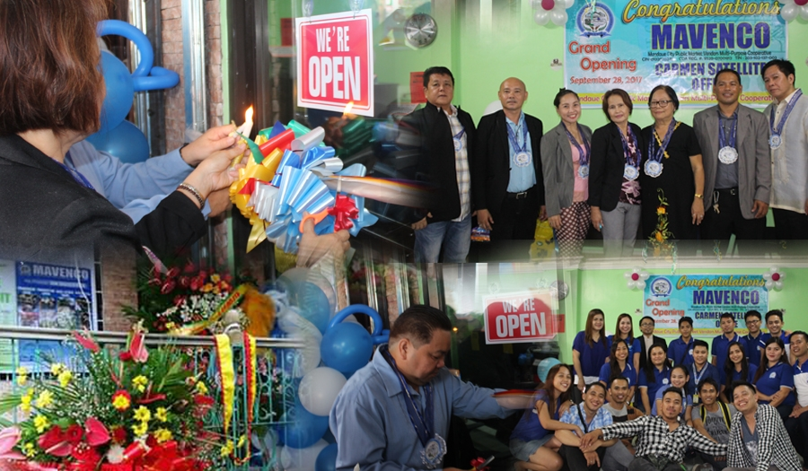 MAVENCO CARMEN SATELLITE OFFICE-Grand Opening & Blessing Sept.28, 2017